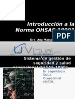 1. Introduccion a OHSAS 18001