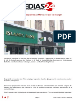 Les Bq Participatives Au Maroc