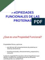 propiedades funcionales de la proteina en la carne y capacidad de retencion