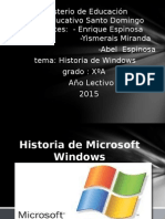 Historias de Windows