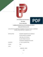 Metodos de Perforacion