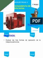 7_Tipos de Funcionamiento de La Máquina Asíncrona