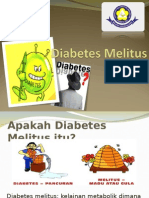 Diabetes Melitus Puskes Ciracas April 2013