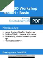 FreeBSD Workshop-Modul1 InstalasiDasar