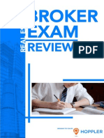 Hoppler's Real Estate Broker Exam Reviewer eBook-Free Download