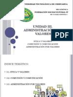 FSC - U3- Administración Por Valores