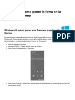 Windows 8 Como Poner La Firma en La Aplicacion Correo 11872 Mxz46y