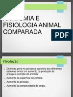 Biologia - Anatomia e Fisiologia Animal Comparada