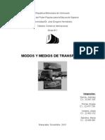 Medios y modos de transporte comercio internacional.docx
