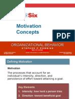 Motivation Concepts