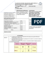 Planeacion de Artes Primer Grado Por Secuencias II BIM 2015-2016