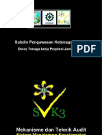 Prosedur Audit SMK3