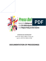 PRESS on Documentation of Proceedings