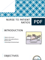 nurse to patient ratios 450