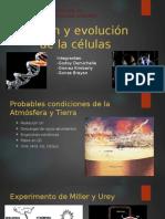 Origen y Evolución de La Células