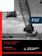 Step Change in Safety - Marine Transfer of Personnel Guidelines