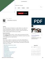 Oracle Workflow Tutorial