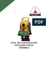 Trimble GDM CU Manual Usuario GEOCOM