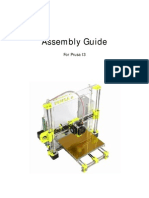 Assebly Guide - Prusa I3