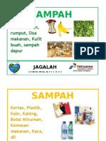 Stiker Sampah Full A4