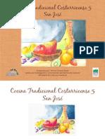 Recetario 5 Libro Cocina San Jose