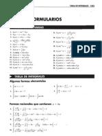 Formulario - Leithold 7ma Ed