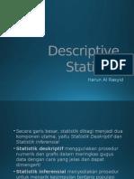 (4) Dr Harun - Descriptive Statistics