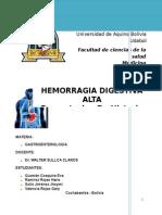 Hemorragia Digestiva Alta - Historia Clinica