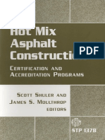55255890 Hot Mix Asphalt Construction Certification and Accreditation Programs