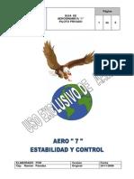 Aero 7 Estabilidad y Control
