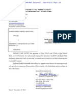 North Jersey Media v. Palin - Motion to Dismiss and Supporting Memorandum