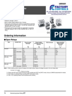 LY Relay Datasheet