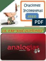 ANALOGÍAS+Y+ORACIONES+INCOMPLETAS_LECCIÒN