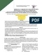Análisis de La Coherencia y Cohesión en El Discurso Escrito de Los Estudiantes de La UPNFM de La Carrera Del Profesorado en La Enseñanza Del Español Del Espacio Formativo Literatura Centroamericana en El III Periodo