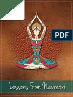 Lessons Navratri Book