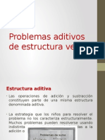 Estructuras aditivas