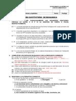 Examen Sustitutorio de Bioquimica