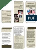 intern brochure