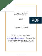 Sigmund Freud - La Negación