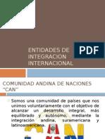 Entidades de Integracion Internacionañ