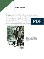 10 Analysis of Rockfall Hazards