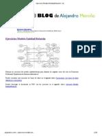 Modelo EntidadRelación - Ejercicios