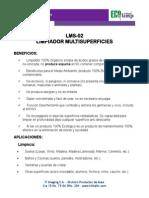 Ficha Tecnica LMS-02