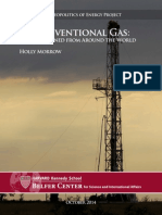 Unconventional Gas- Lessons Learned From Around the World