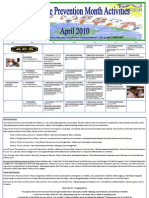 ACS April Child Abuse Prevention Month Calendar