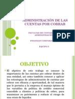 CUENTAS POR COBRAR ( OBJETIVO Y ADMINISTRACIÓN FINANCIERA).pptx