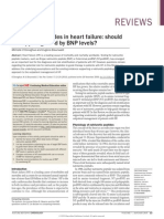 Natriuretic Peptides in Heart Failure Should Therapy Be Guided by BNP Levels