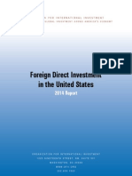Foreign Direct Investment in the USA