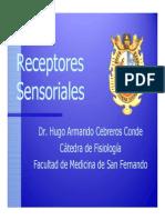 T2. Receptores Sensoriales