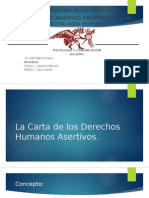 La Carta de Los Derechos Humanos Asertivos